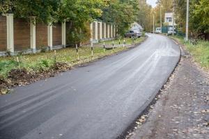 В микрорайоне Баковка города Одинцово заменили почти 5000 квадратных метров дорожного полотна